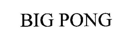 BIG PONG