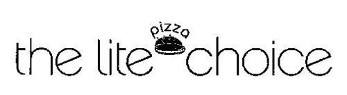 THE LITE PIZZA CHOICE