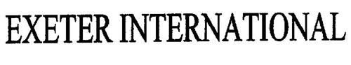 EXETER INTERNATIONAL