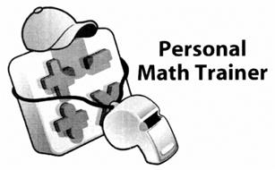 PERSONAL MATH TRAINER