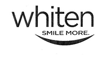 WHITEN SMILE MORE.