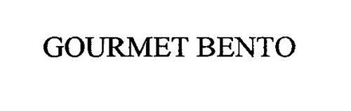 GOURMET BENTO