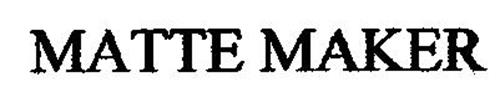 MATTE MAKER