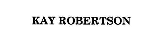 KAY ROBERTSON