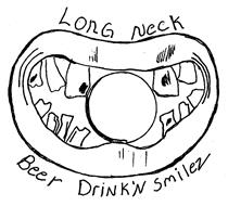 LONG NECK BEER DRINK'N SMILEZ