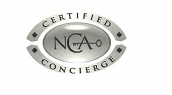 NCA CERTIFIED CONCIERGE