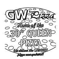 GW PIZZA HOME OF THE 30