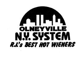 OLNEYVILLE N.Y. SYSTEM R.I.'S BEST HOT WIENERS
