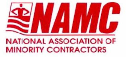 NAMC NATIONAL ASSOCIATION OF MINORITY CONTRACTORS