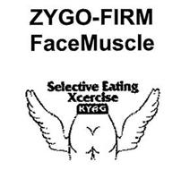 ZYGO-FIRM FACE MUSCLE SELECTIVE EATING XCERCISE KYAG