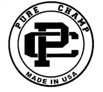 PC PURE CHAMP MADE IN USA