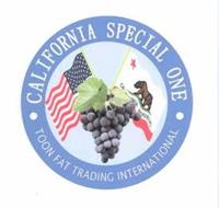 CALIFORNIA SPECIAL ONE TOON FAT TRADING INTERNATIONAL CALIFORNIA REPUBLIC