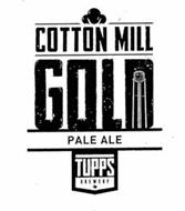 COTTON MILL GOLD PALE ALE TUPPS BREWERY