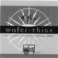 A. ANISI WAFER * THINS THE ORIGINAL FILLED HONEY WAFERS BY ANISI EST. 1925 A. ANISI