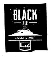 BLACK ALE SWEET STOUT TUPPS BREWERY