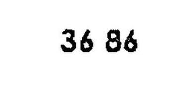 36 86