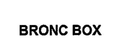 BRONC BOX