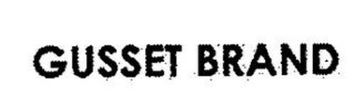 GUSSET BRAND