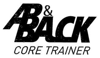 AB & BACK CORE TRAINER