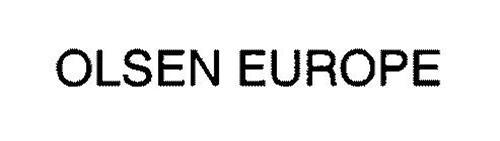 OLSEN EUROPE