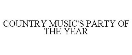 COUNTRY MUSIC'S PARTY OF THE YEAR
