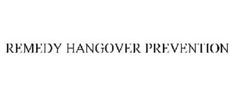 REMEDY HANGOVER PREVENTION