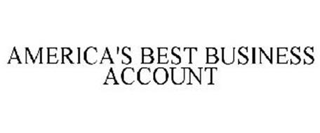 AMERICA'S BEST BUSINESS ACCOUNT