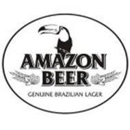 AMAZON BEER GENUINE BRAZILIAN LAGER
