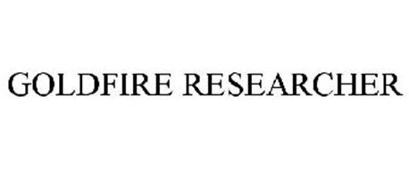 GOLDFIRE RESEARCHER