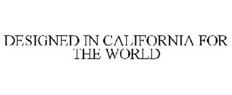 DESIGNED IN CALIFORNIA FOR THE WORLD