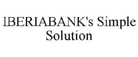 IBERIABANK'S SIMPLE SOLUTION