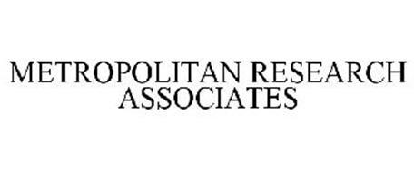 METROPOLITAN RESEARCH ASSOCIATES