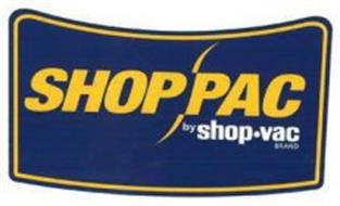 SHOP PAC BY SHOP·VAC BRAND