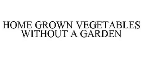 HOME GROWN VEGETABLES WITHOUT A GARDEN