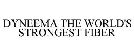 DYNEEMA THE WORLD'S STRONGEST FIBER