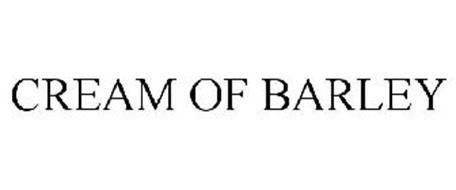 CREAM OF BARLEY