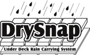 DRYSNAP UNDER DECK RAIN CARRYING SYSTEM
