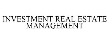 INVESTMENT REAL ESTATE MANAGEMENT