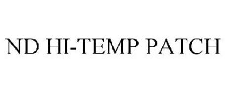 ND HI-TEMP PATCH