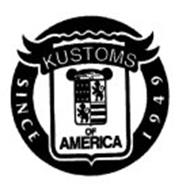KUSTOMS OF AMERICA SINCE 1949