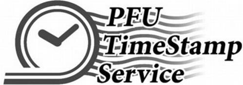 PFU TIMESTAMP SERVICE