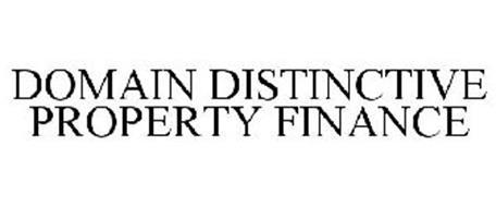 DOMAIN DISTINCTIVE PROPERTY FINANCE