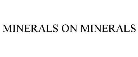 MINERALS ON MINERALS