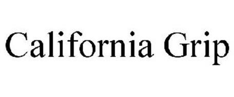CALIFORNIA GRIP