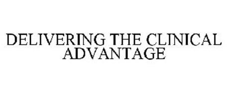 DELIVERING THE CLINICAL ADVANTAGE