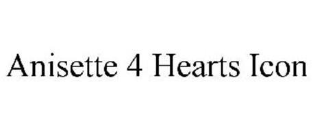 ANISETTE 4 HEARTS ICON