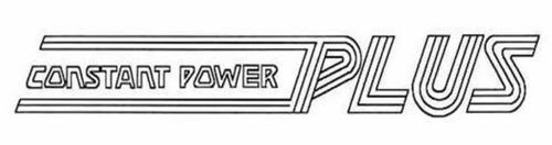 CONSTANT POWER PLUS