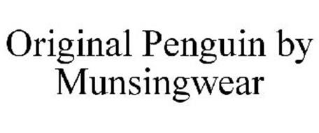 ORIGINAL PENGUIN BY MUNSINGWEAR