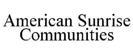 AMERICAN SUNRISE COMMUNITIES