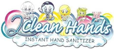 2CLEAN HANDS INSTANT HAND SANITIZER